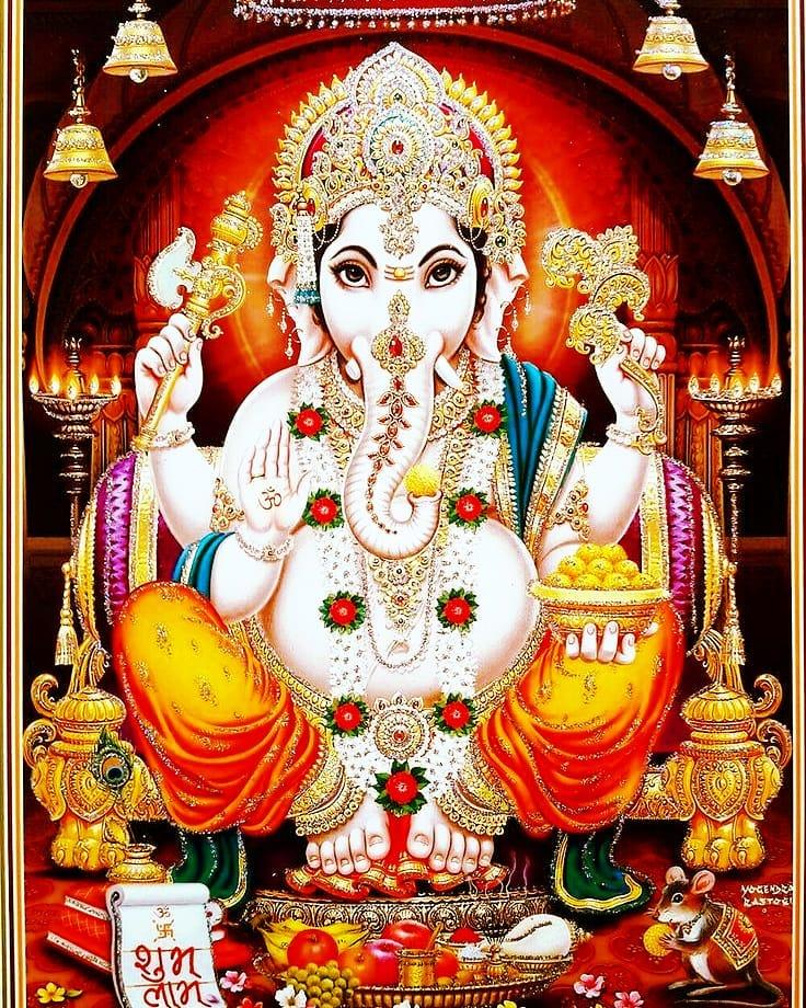 Amazing Lord Ganesha Decoration Photo