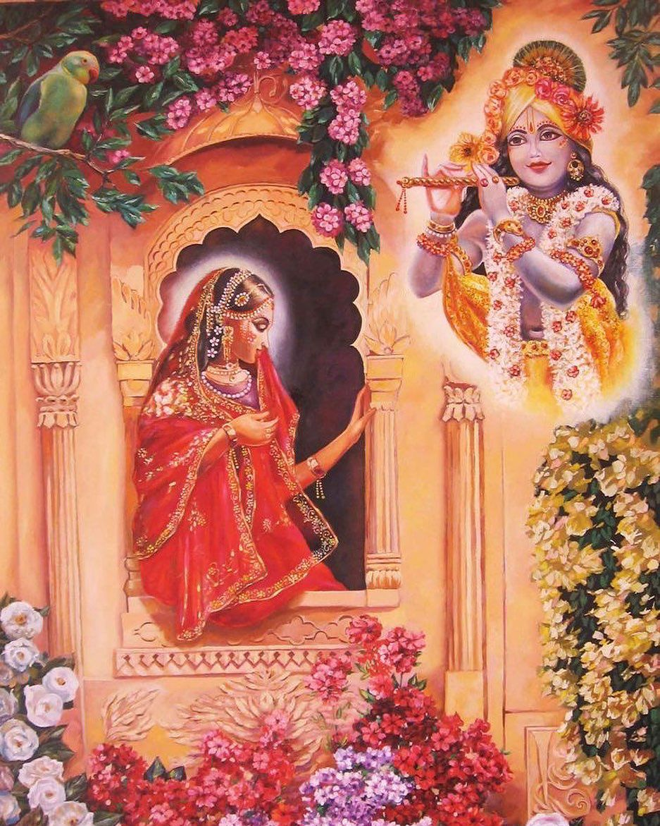 Appealing Radha Krishna HD Photo Full Download for Mobile