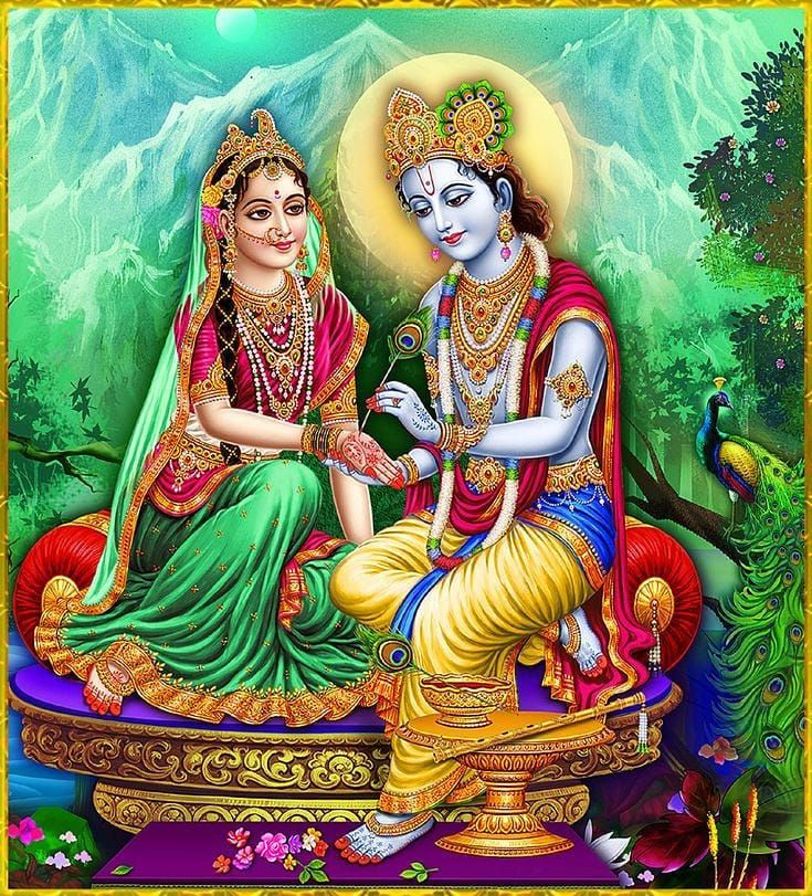 Awesome Radha Krishna Photo HD 1080p Mobile to Download for Free