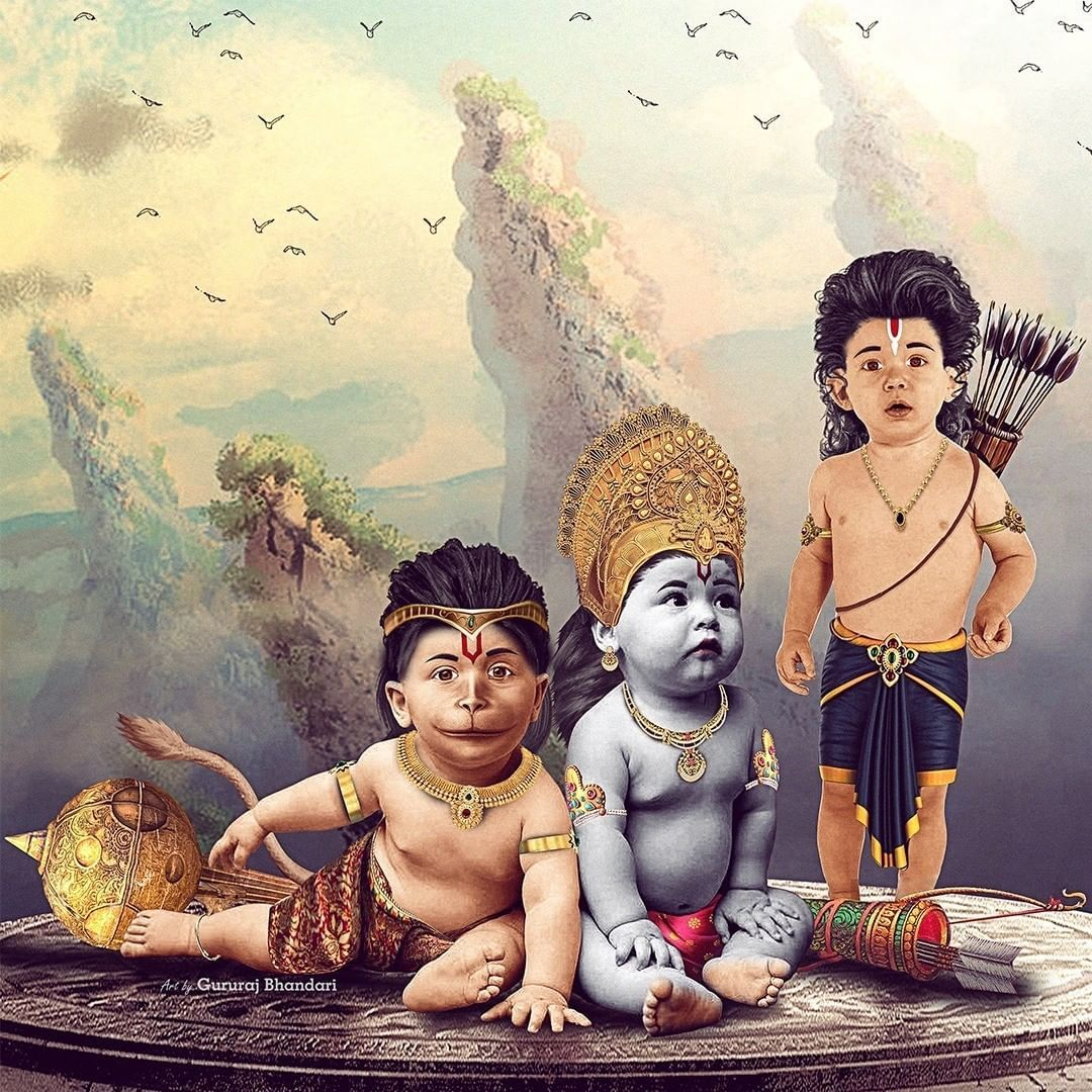 Bajrangbali Childhood Photo