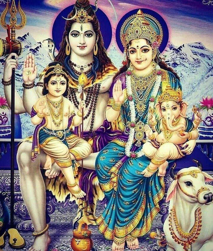 Bhole Baba Ki Family Photo