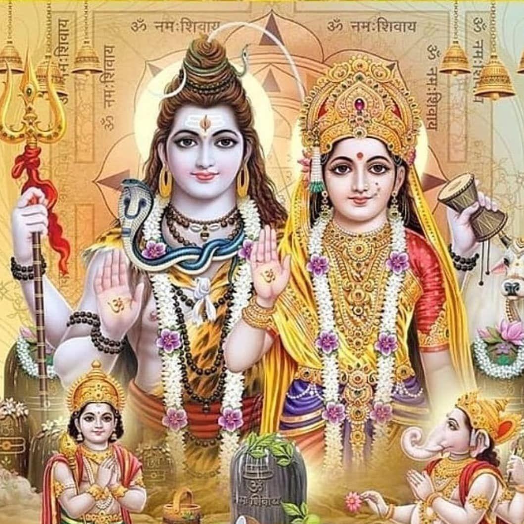 Bhole Baba aur Parvati Ki Photo