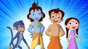 Chota Bheem and Krishna Images