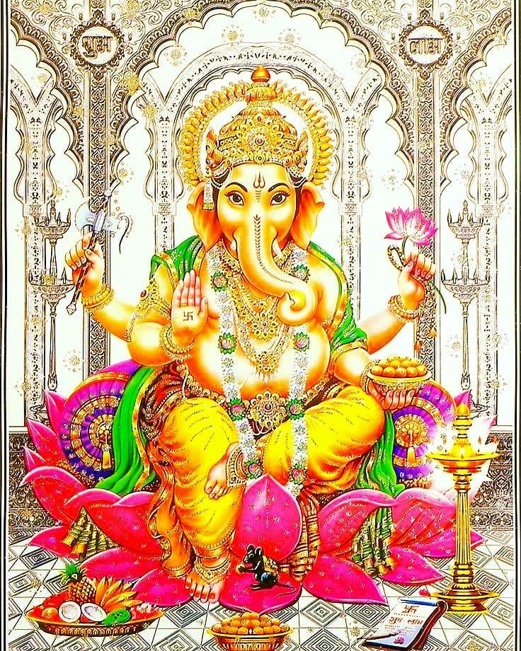 Ganpati Decoration New Photos