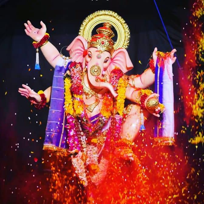 Ganpati Decoration Photo Download for Mobile
