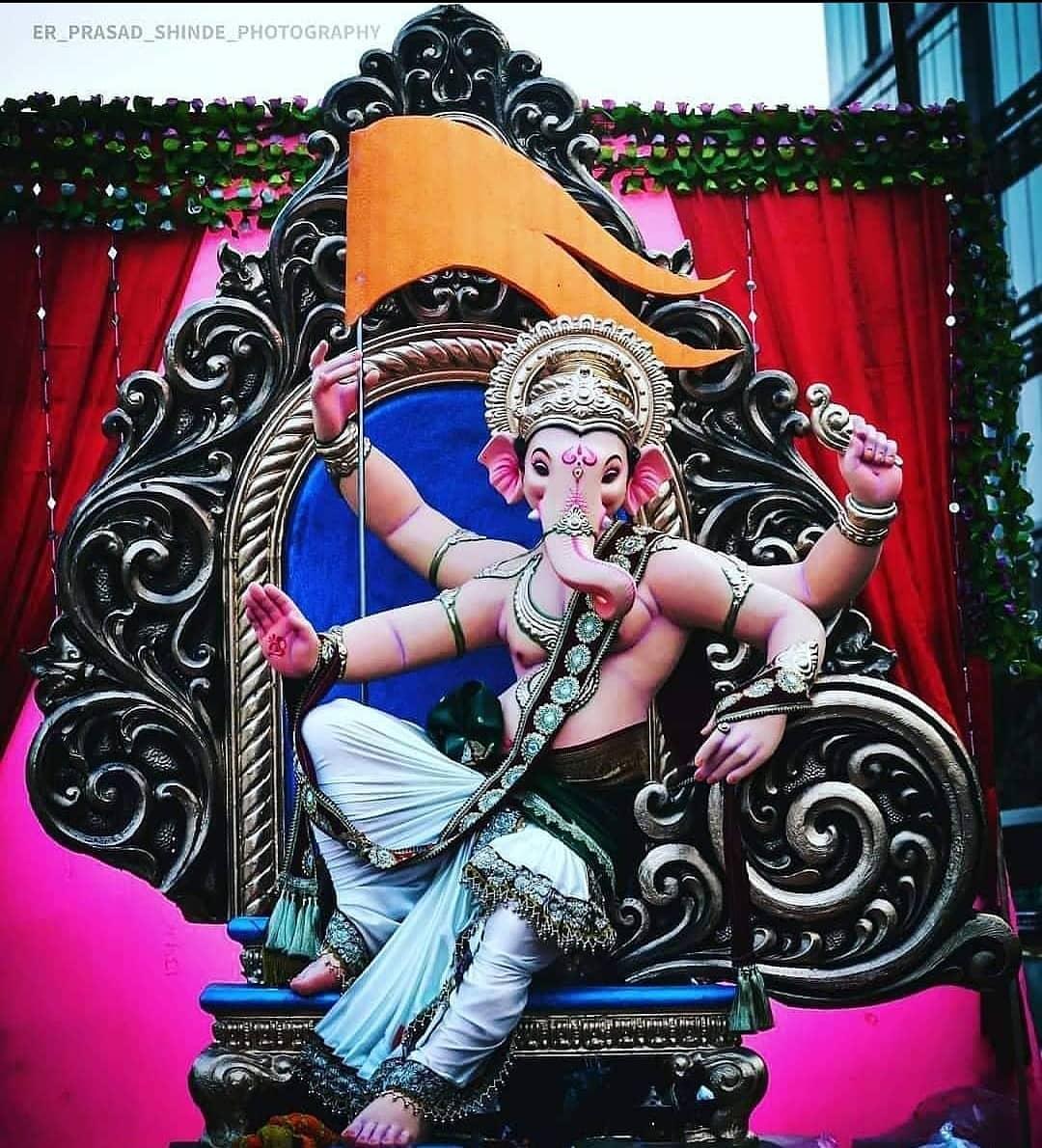 Ganpati Decoration Photo Gallery Download
