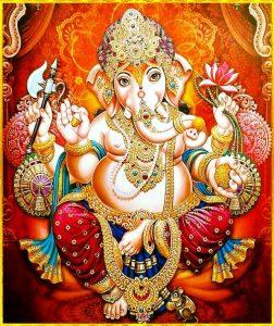 Ganpati Ke Decoration Ke Photo