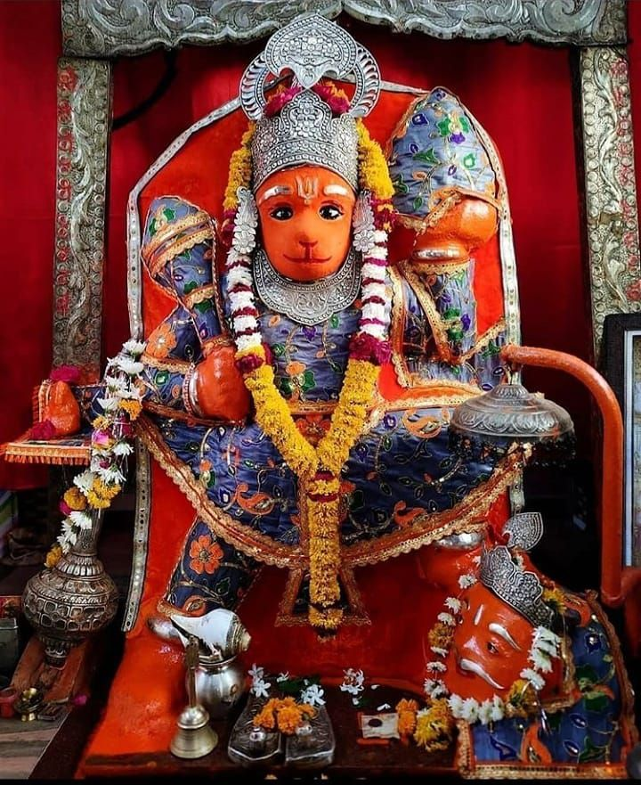 God Hanumantha Cute Face Mandir Images