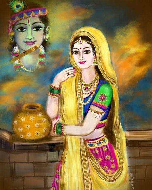 Radha Krishna Ki Photo Wallpaper