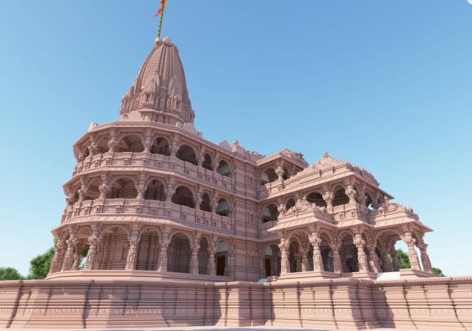 Ayodhya Ram Mandir Current Image HD Download