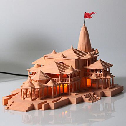 Ayodhya Ram Mandir Model Image