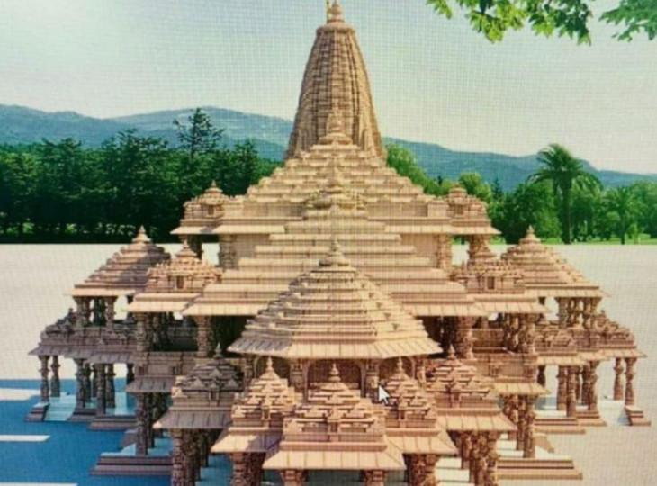 Ayodhya Ram Mandir Original Photos HD Wallpaper