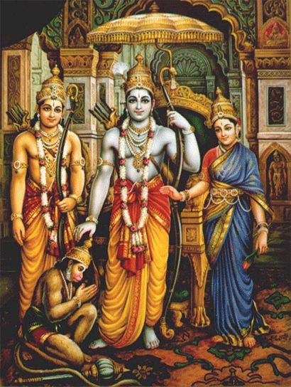 Beautiful Ram Laxman Sita Photo HD Download