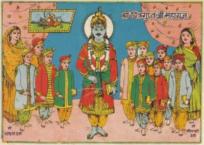 Chitragupt Bhagwan Image for Mobile Free Download HD Quality