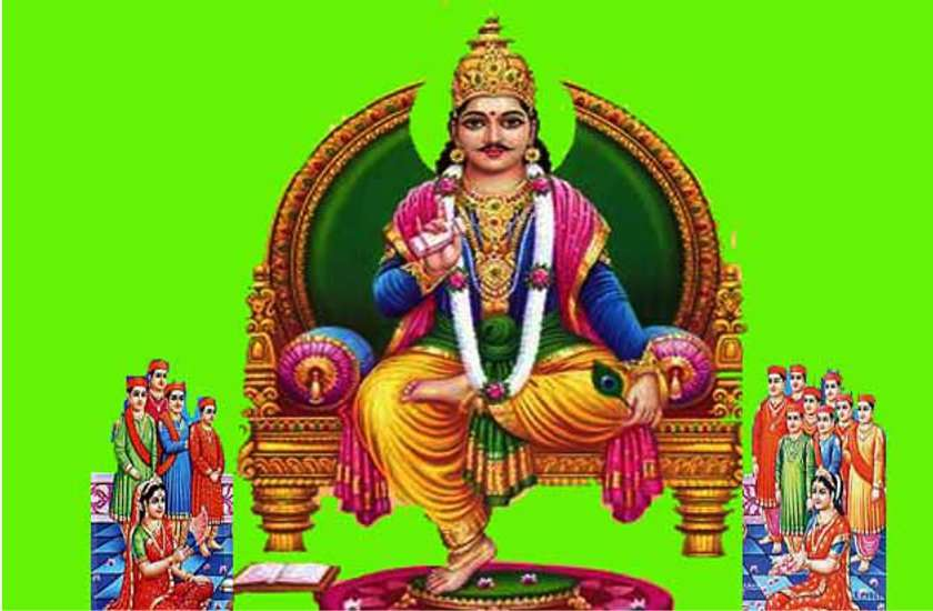 Chitragupt Bhagwan Image for Mobile