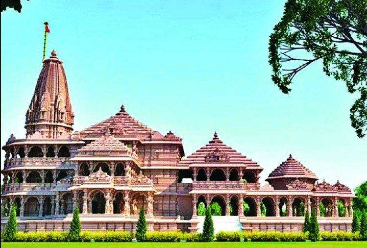 Full HD Ayodhya Ram Mandir Photo