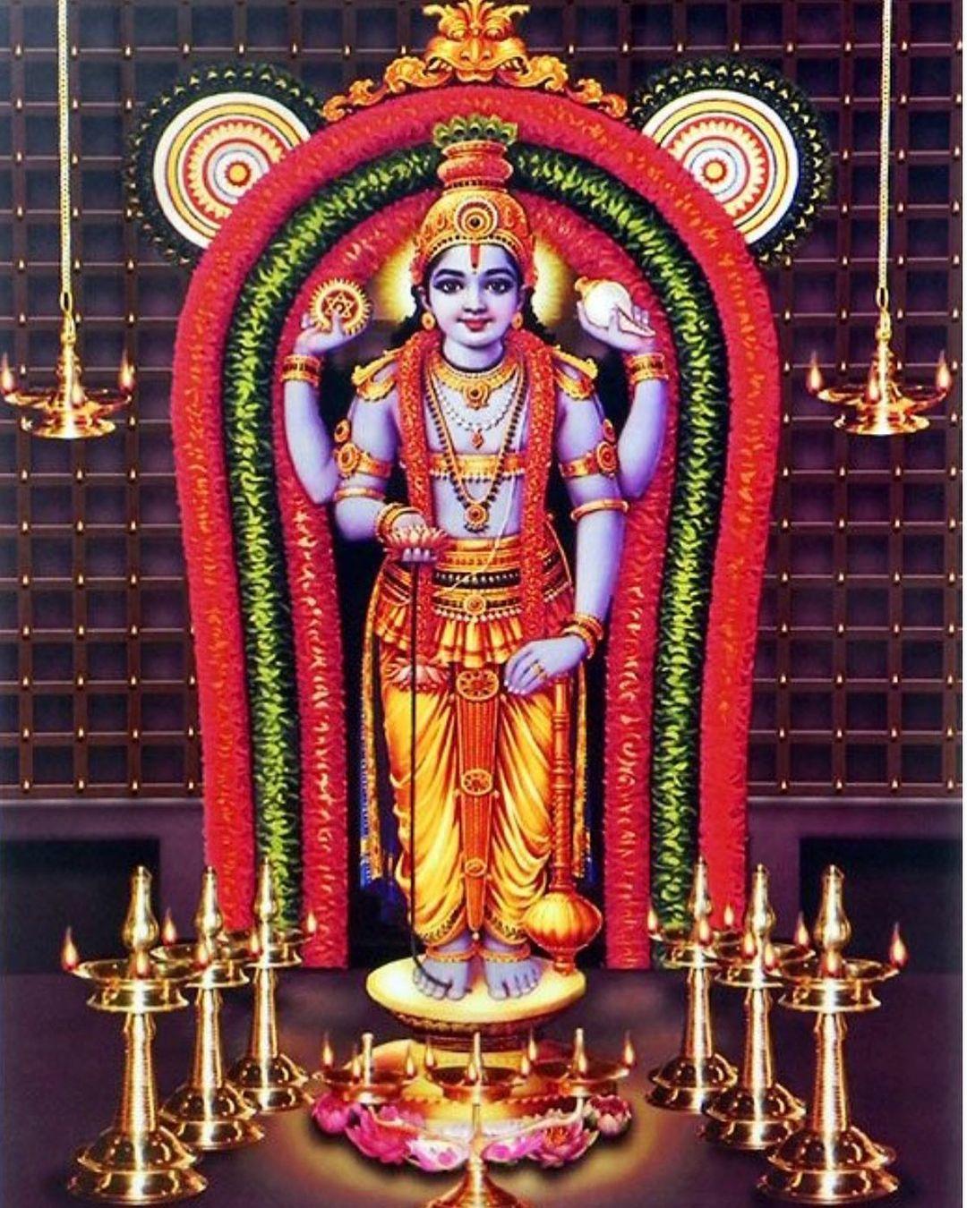 Guruvayoorappan Good Morning Images