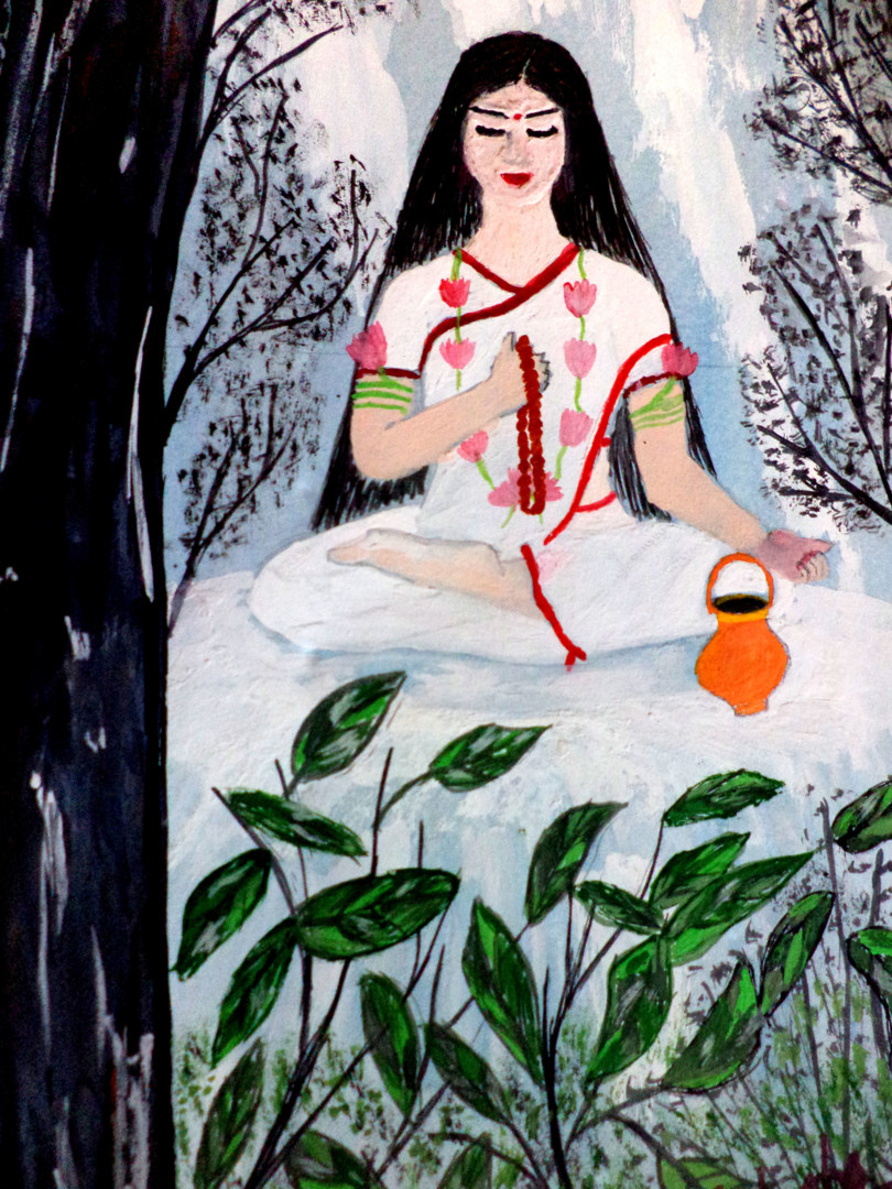 Images of Goddess Brahmacharini -