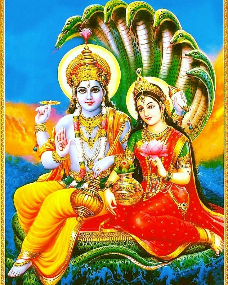 Laxmi Narayan Hd Wallpaper 1080p