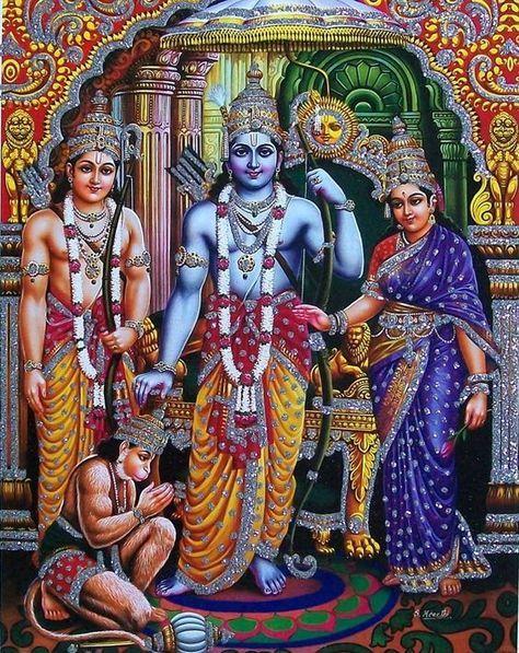 Sita Rama Lakshmana Hanuman Images