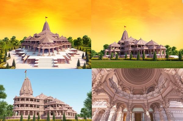 Sri Ram Mandir Ayodhya Images