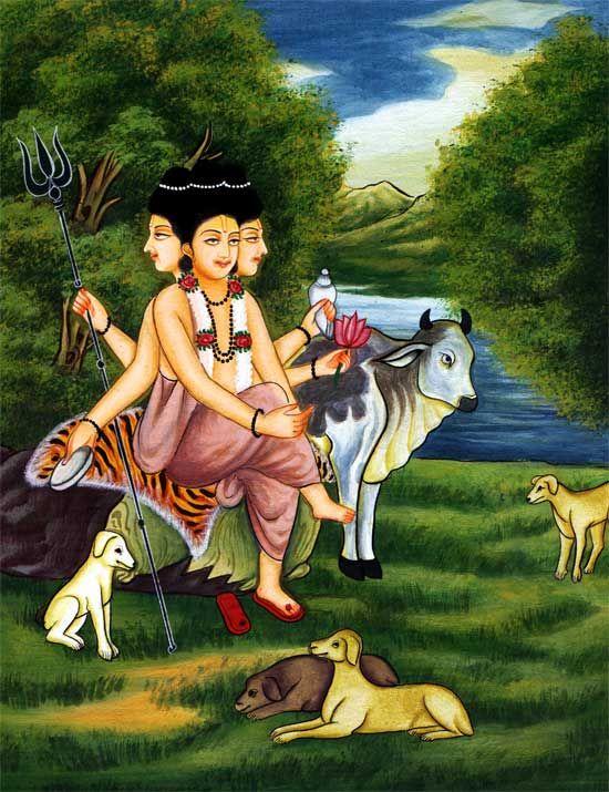 Gurudev Datta Wallpaper