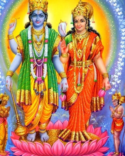 Laxmi Narayana God Images