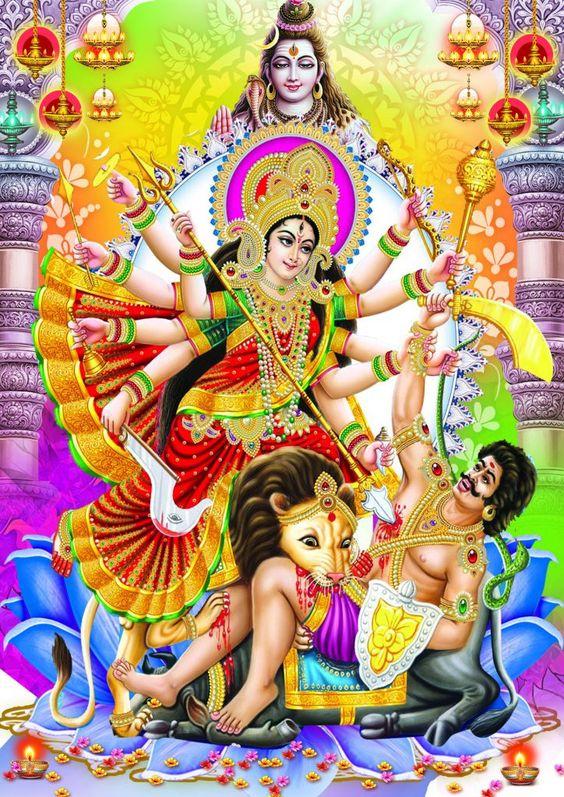 Maa Durga 4d Wallpaper Download