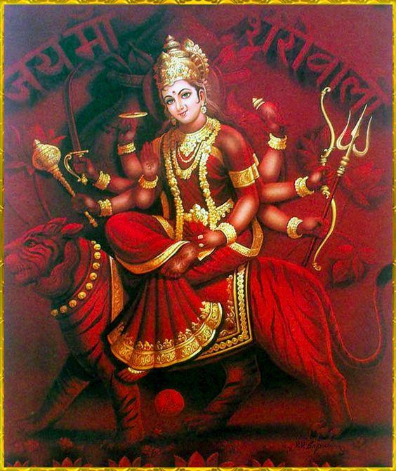 Maa Durga Desktop Wallpaper Full Size Hd