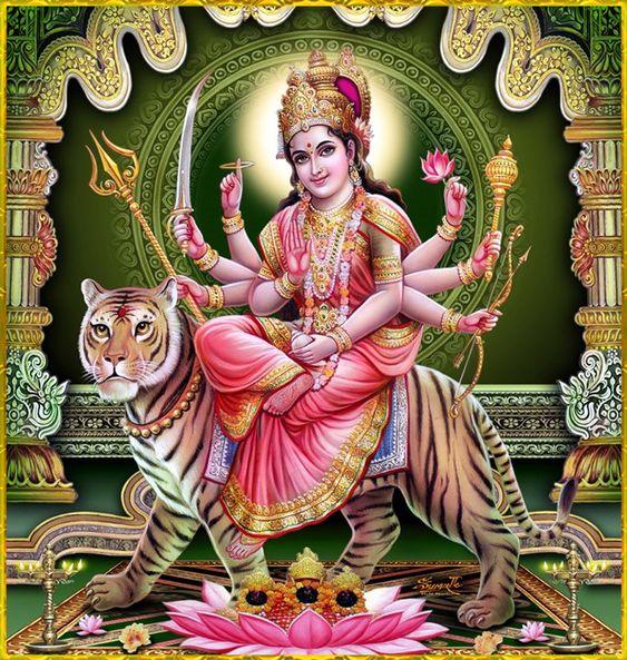 Maa Durga Image High Resolution Hd Wallpaper