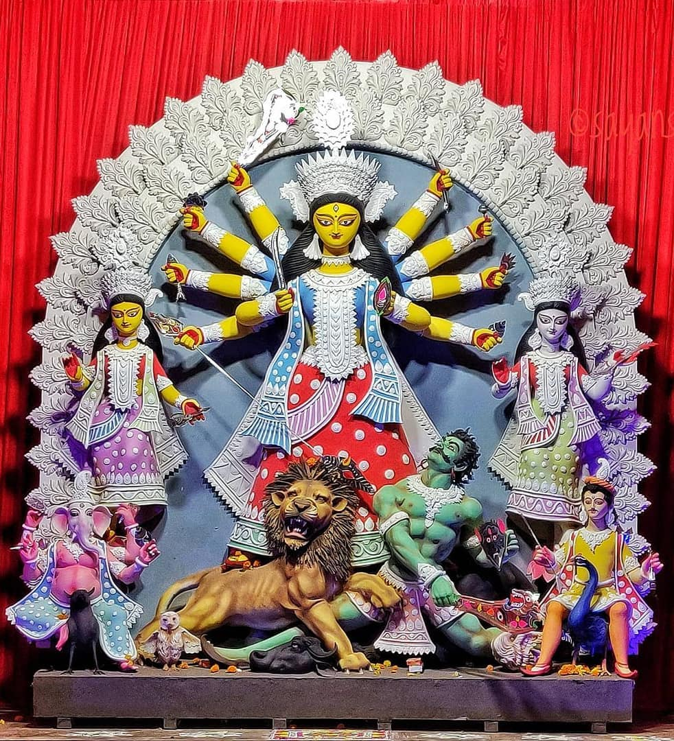 Maa Durga Live Wallpaper For Mobile