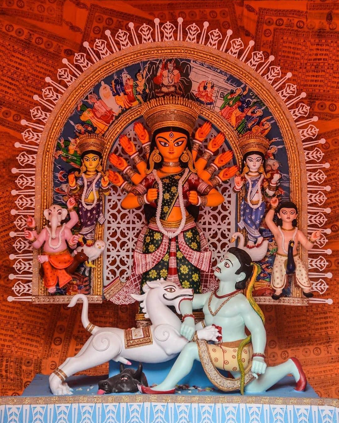 Maa Durga Murti Wallpaper Hd Quality